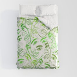 The Many Faces of Beauty Comforters