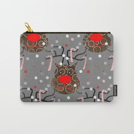 Funny Reindeer Carry-All Pouch