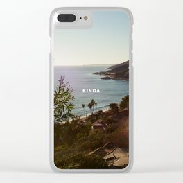 KINDA - LANY Clear iPhone Case
