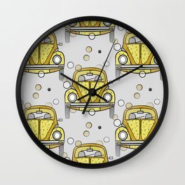 Sunday Drive Wall Clock