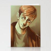kieren walker Stationery Cards featuring In the Flesh - Kieren Walker by SandraG.N.
