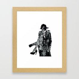 TRENCHCOAT Framed Art Print