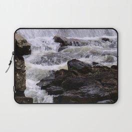 Lowell Tannery Hydro Dam Spring Rush Laptop Sleeve