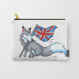Flag Flying Wolf (UK) Carry-All Pouch