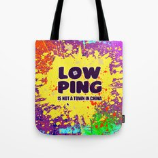 Low-Ping Tote Bag