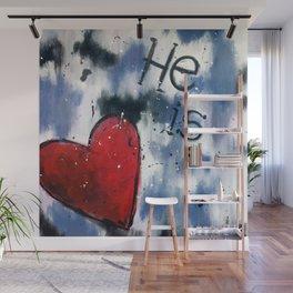 He is Love Wall Mural