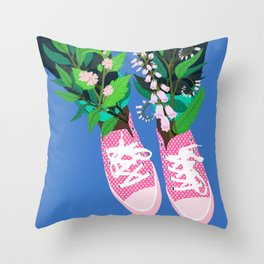 Welcome to the Shoe Show #2 Throw Pillow