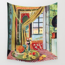 Henri Matisse Interior with a Phonograph Wall Tapestry