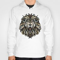 lion Hoodies featuring Lion by Andreas Preis