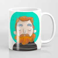 ginger Mugs featuring Ginger by caridibuja