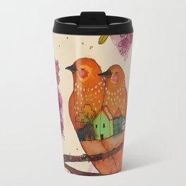 Sous les cerisiers Travel Mug