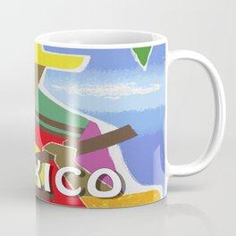 Vintage Mexico Vihuela Travel Coffee Mug