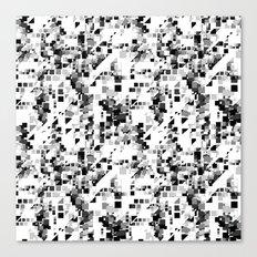 Pixels Canvas Print