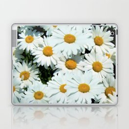 Daisies explode into flower Laptop & iPad Skin