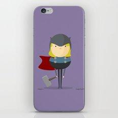 My handy hero! iPhone & iPod Skin