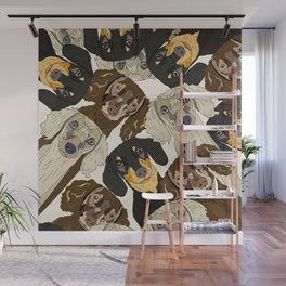 Doxie Nation Wall Mural