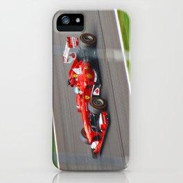 Fernando Alonso - 2013 Gran Premio d'Italia iPhone Case