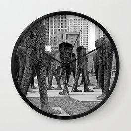 Chi Legs Wall Clock