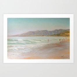 At the Shore Art Print