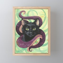 Unleashed: Arcane Cat Series Framed Mini Art Print
