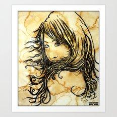 Tea Breeze Art Print