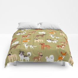 AFRICAN DOGS Comforters
