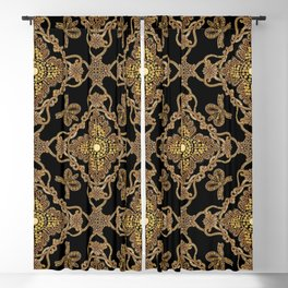 Beaded Baroque Blackout Curtain
