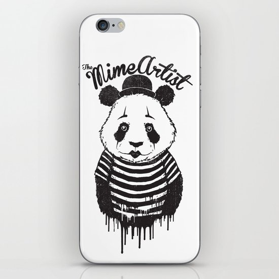 The Mime Artist iPhone Skin