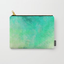 sea colored painted artwork Carry-All Pouch