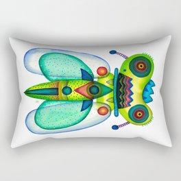 Dragonfly Moth Rectangular Pillow