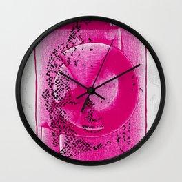 Buddha Pink Wall Clock