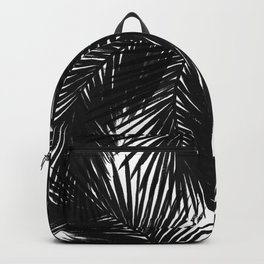 Palms Black Backpack