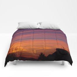 Neon Chemtrails Comforters