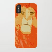 simba iPhone & iPod Cases featuring Simba by Makayla Wilkerson
