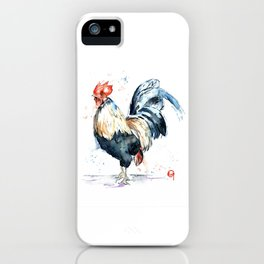 Rooster - Eary Riser iPhone Case