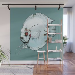 Zombie Discus Wall Mural