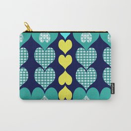 big and small hearts Carry-All Pouch