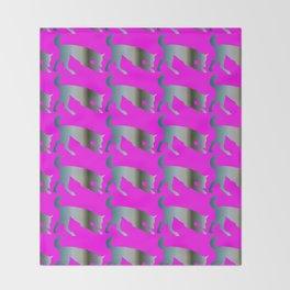 Wolf pattern Throw Blanket