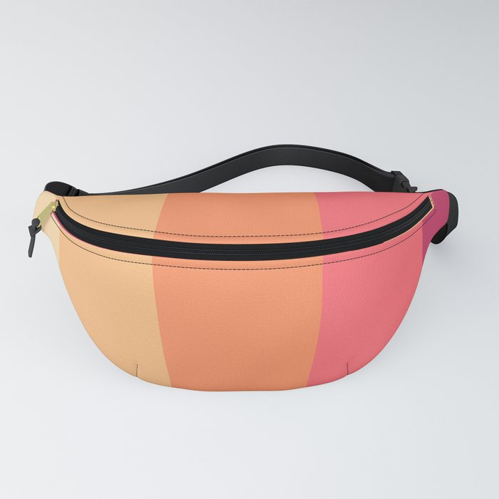 Peachy Colours Fanny Pack