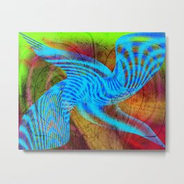 Blue emotion Metal Print