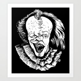 Double Dose of Pennywise Art Print