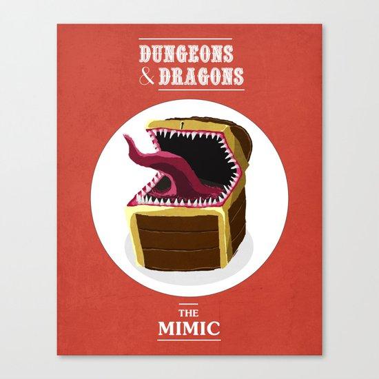 Mimic Canvas Print