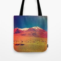 saturn Tote Bags featuring Saturn. by Daniel Montero