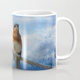 Heavenly Song Of The Bluebird Coffee Mug