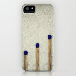whole matches stairsteps iPhone Case