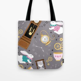 Late For The Party Tote Bag