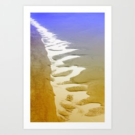 Folly From Above Art Print