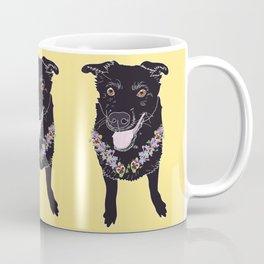 Happy Black Lab Dog Coffee Mug
