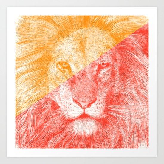 Wild 3 by Eric Fan & Garima Dhawan Art Print