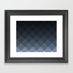 Oyster Tile Pattern Framed Art Print